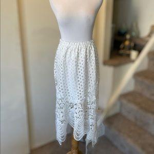 Crochet Lined Skirt